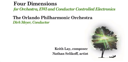 Four Dimensions for Orchestra, EWI and Electronics