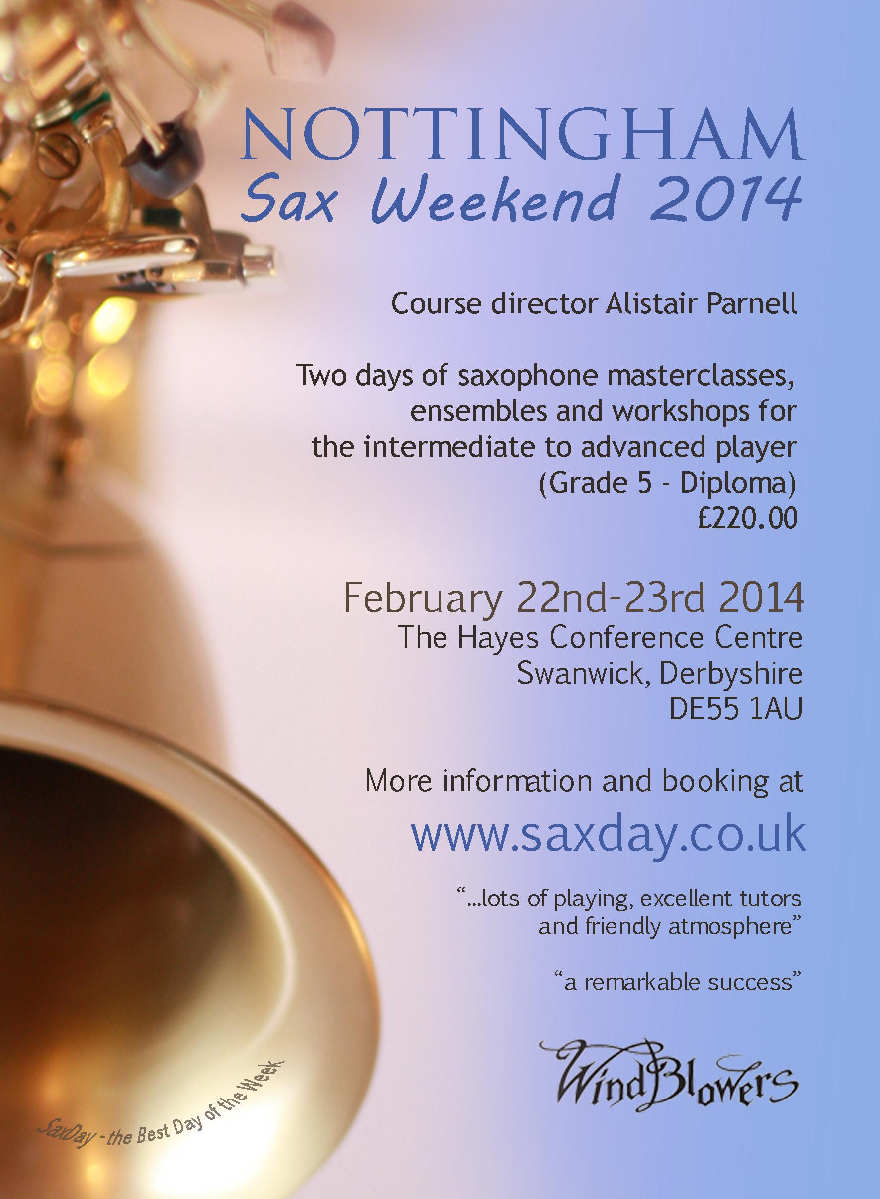 saxweekend 2014